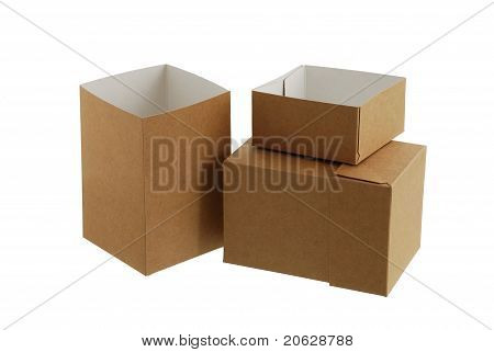 Two Simple Carton Boxes