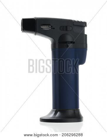 Blow torch lighter isolated on white background.