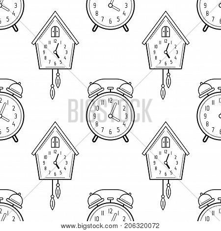 Cuckoo Clock Coloring Page - Get Coloring Pages | 470x450