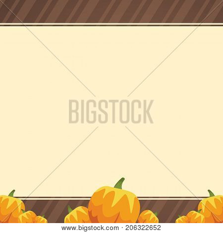 Frame design Thankgiving theme collection vector illustration