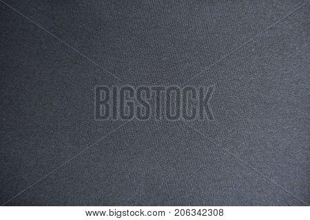 Blank Simple Unprinted Dark Gray Viscose Fabric