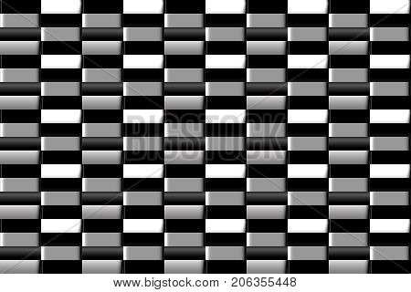 Abstract seamless vector pattern in the checkerboard surround elements for design of gift packages and wrapping paper