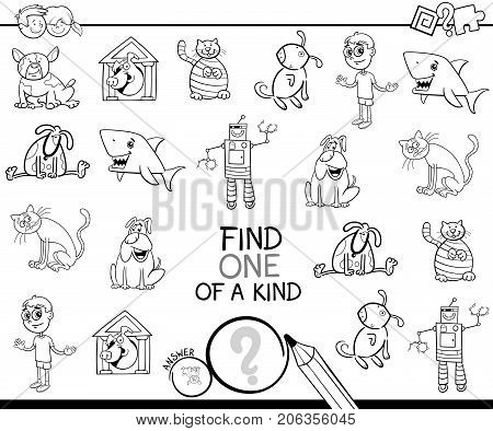 Find One Picture Of A Kind Coloring Game