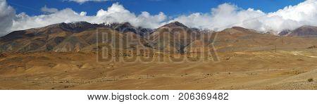 Altai mountains. Beautiful highland landscape. Russia. Siberia.