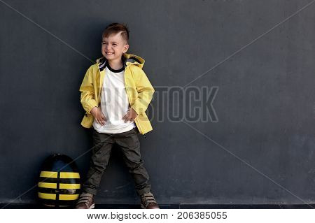 Posing Model Of A Boy 5 Years Old
