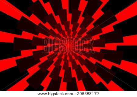 Lightning bolt - abstract geometric vector pattern - red , Thunder abstract background