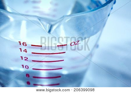 Ounces of Water in a Measuring Cup