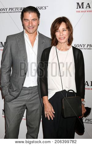 LOS ANGELES - SEP 26:  Tommy Davis, Anne Archer at the