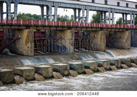Hydro electric Electricity power plant - DAM of powerplant