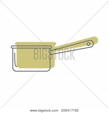 Pan In Doodle Style Icons Vector Illustration For Design And Web Isolated On White Background