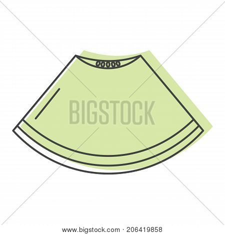 Piece of melon in doodle style icons vector illustration for design and web isolated on white background. Piece of melon vector object for labels and logo