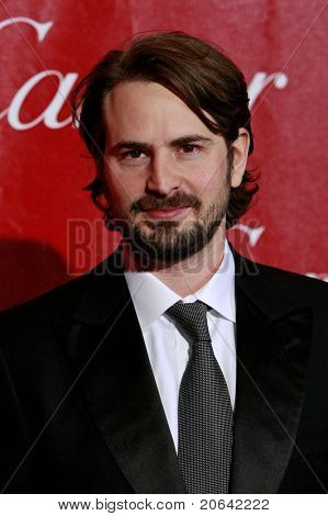 PALM SPRINGS, CA - JAN 6:  Mark Boal at the 2010 Palm Springs International Film Festival gala held at the Palm Springs Convention Center on January 6, 2010 in Palm Springs, California.