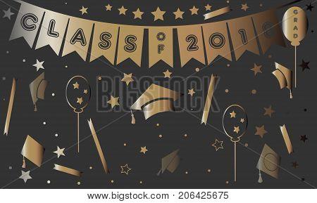 Graduation Class Of Two Thousand Eighteen.