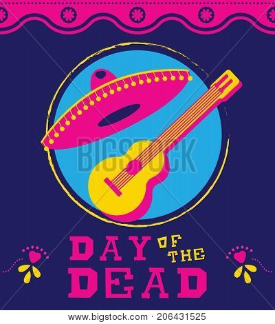 Day Of The Dead Mexican Mariachi Decoration Art