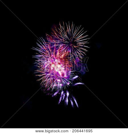 Fireworks Show / Guy Fawkes Night - 5th November /  London, United Kingdom