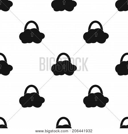 E-mail with key password icon in black design isolated on white background. Hackers and hacking symbol stock vector illustration.