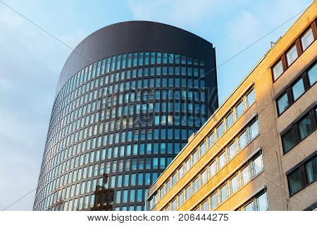 Office Tower In The City Of Dortmund, Germany