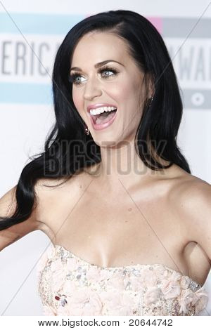 LOS ANGELES - NOV 21: Katy Perry at the 2010 American Music Awards held at the Nokia Theater in Los Angeles, California on November 21, 2010