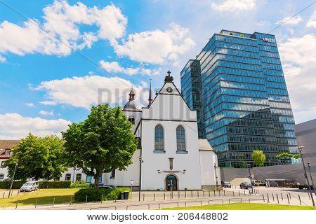Church Alt St. Heribert In Cologne-deutz, Germany