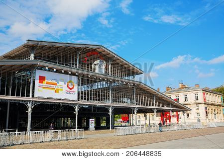 The Grande Halle De La Villette In Paris, France