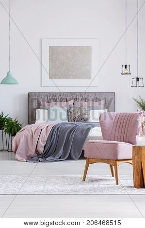 Unique Pastel Room With Chair