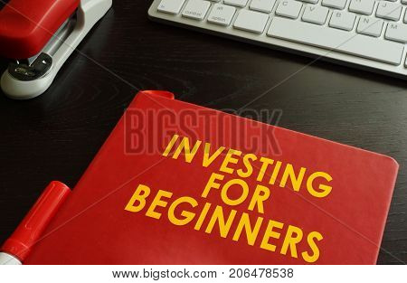 A Book with title Investing for Beginners.