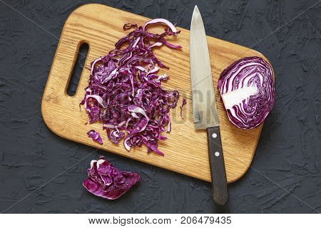 Red Cabbage Freshness Cooked