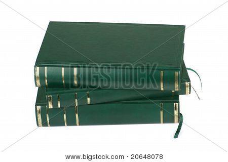 Three Blank Books