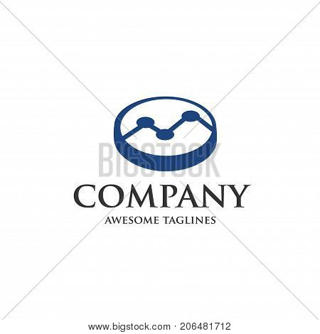 finance and analyst business logo,finance and analyst data logo icon