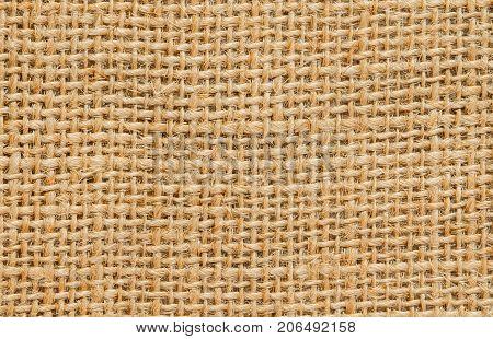 Texture Of Hemp Sack