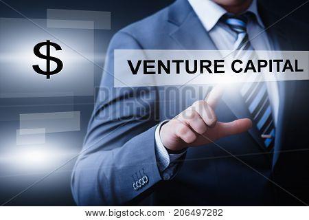 Venture Capital Investment Start-up Funding Business Technology Internet Concept.