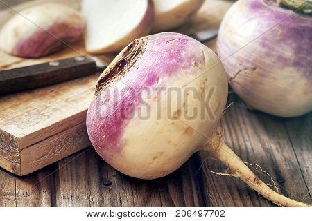 Raw Organic Turnip