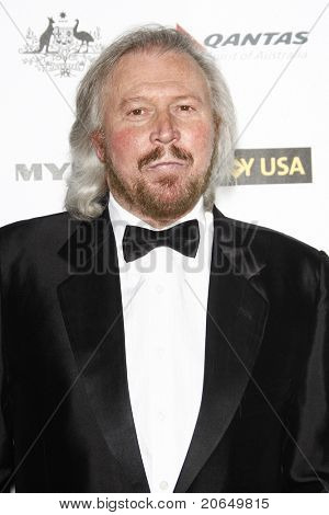 LOS ANGELES - JAN 22: Barry Gibb at the 2011 G'Day USA Australia Week LA Black Tie Gala at the Hollywood Palladium in Los Angeles, California on  January 22, 2011.