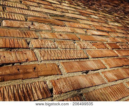 Brick wall. Brickwork. Brick background. Brick texture. Abstract brick background. Firebrick texture. Brown brick. Brown brick wall. Grunge brick. Brick style.