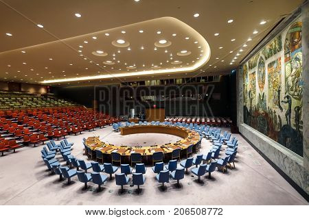 72Th Session Of The Un General Assembly In New York