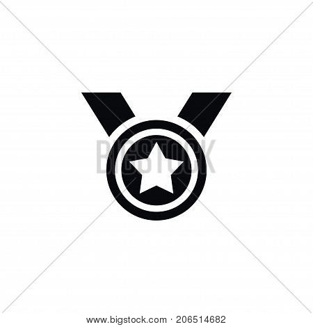 Award Vector Element Can Be Used For Star, Award, Medal Design Concept.  Isolated Medal Icon.