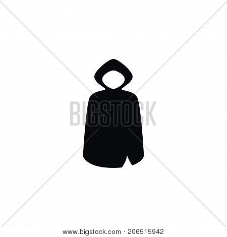 Hood Vector Element Can Be Used For Cloak, Hood, Jacket Design Concept.  Isolated Cloak Icon.
