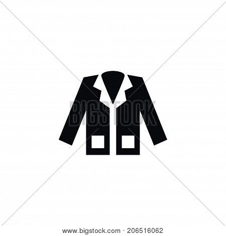 Jacket Vector Element Can Be Used For Coat, Clothing, Jacket Design Concept.  Isolated Coat Icon.