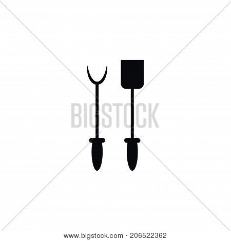 Cooking Vector Element Can Be Used For Bbq, Tool, Cooking Design Concept.  Isolated Bbq Tool Icon.