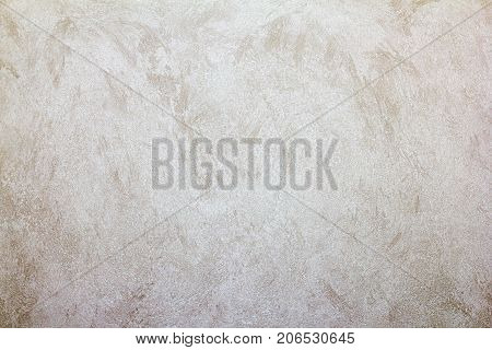 Polished plaster wall texture background Decorative and plastering in loft style.