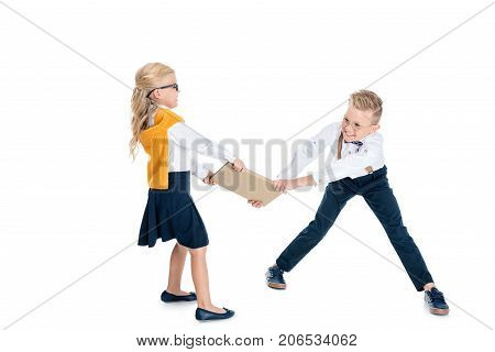 Kids Holding Book