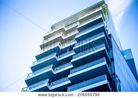 Luxury condos condominiums construction in boston seaport district