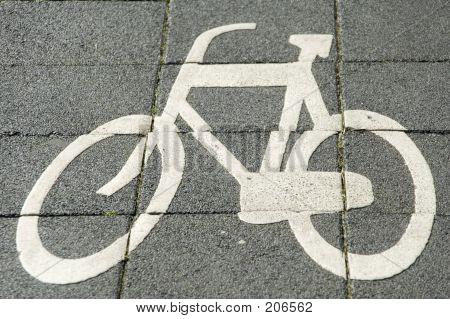Sign For Bike Lane