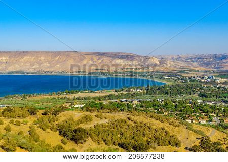 The Southern Part Of The Sea Of Galilee