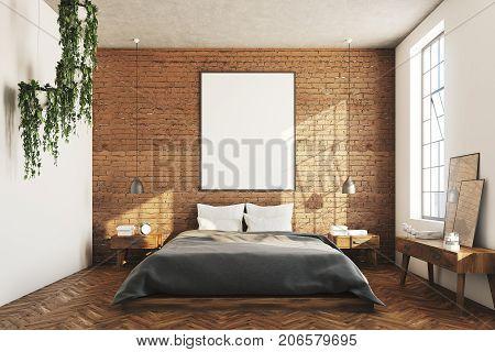 Brick Bedroom, Poster