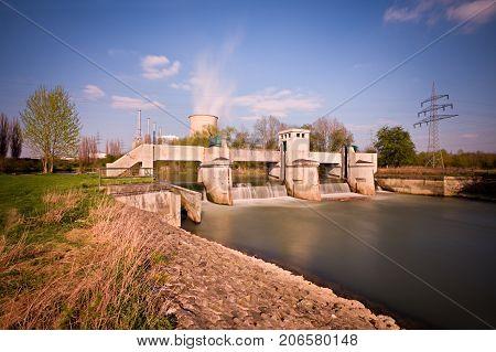 Weir Daytime Long Exposure