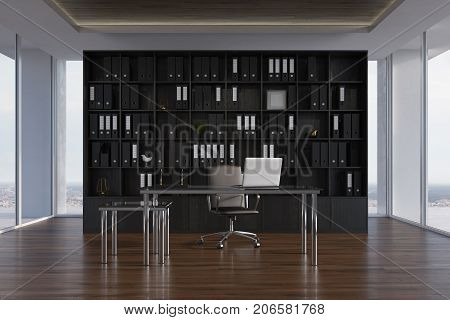 Ceo Office Interior, Bookcase