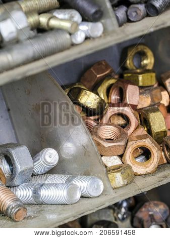 Set of the screws