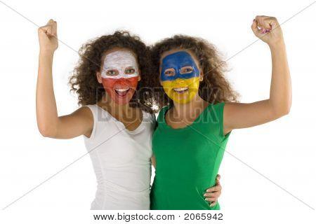 Happy Twins Sport'S Fans