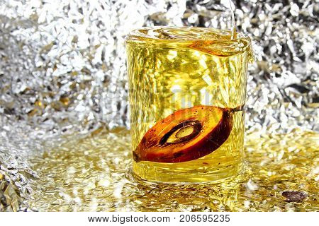 Palm Oil / Palm oil is an edible vegetable oil derived from the reddish pulp of the fruit of the oil palms